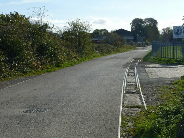 Railway tracks, Fauld