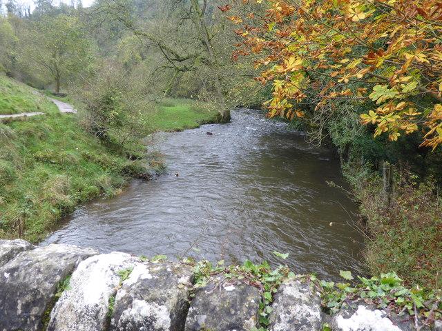 River Dove from Viator's Bridge, Milldale