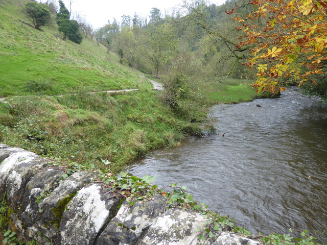 River Dove from Viator's Bridge, Milldale