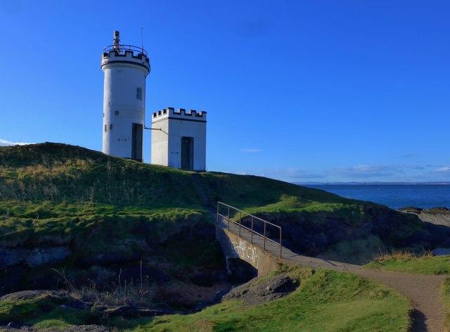 The lighthouse on Elie Ness