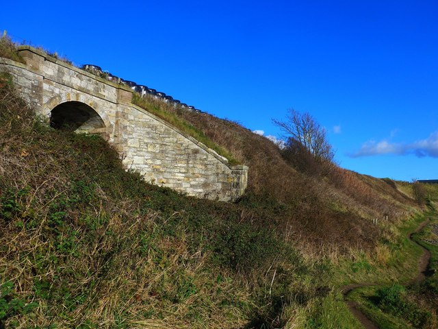 Underpass on the old Fife Coast Railway