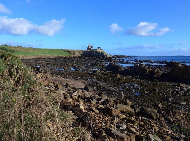 By the Fife Coastal Path