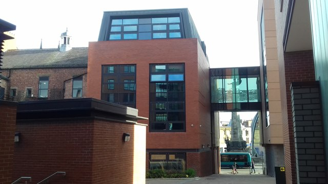 INTO Building, Newcastle University