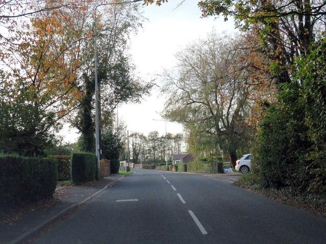 Woodplumpton Lane in Broughton