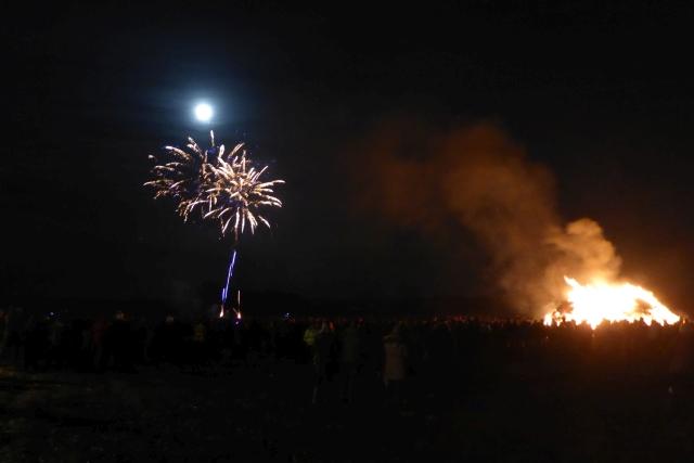 Fireworks at Stillington
