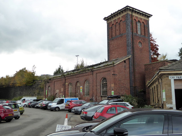 Hydraulic power house, Huddersfield Station