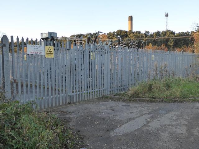 Substation near Eggborough Power Station