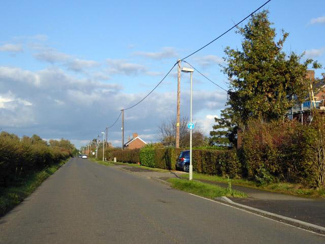 Mill Road. Fen Drayton