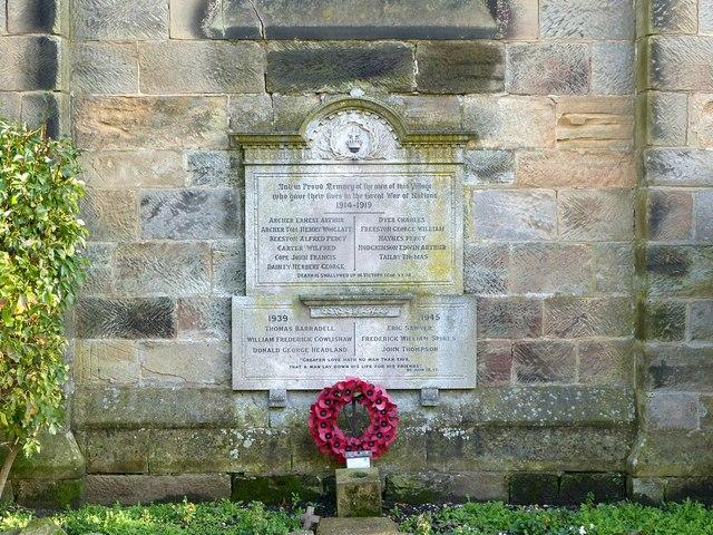 Findern War Memorial