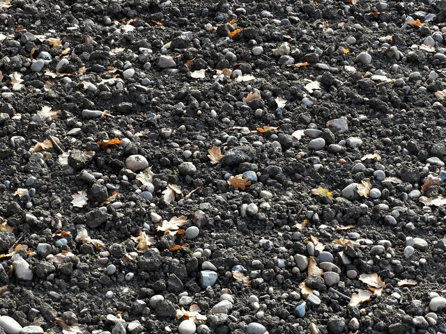 Glaciated pebbles in a tilled field, Porter's Lane, Findern