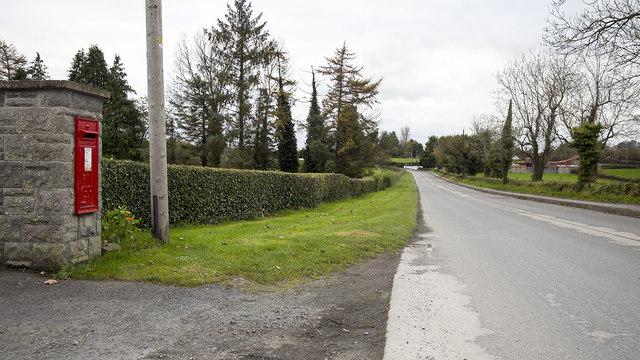 Postbox near Portadown