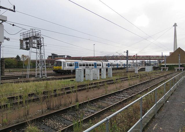 Cambridge: northbound train