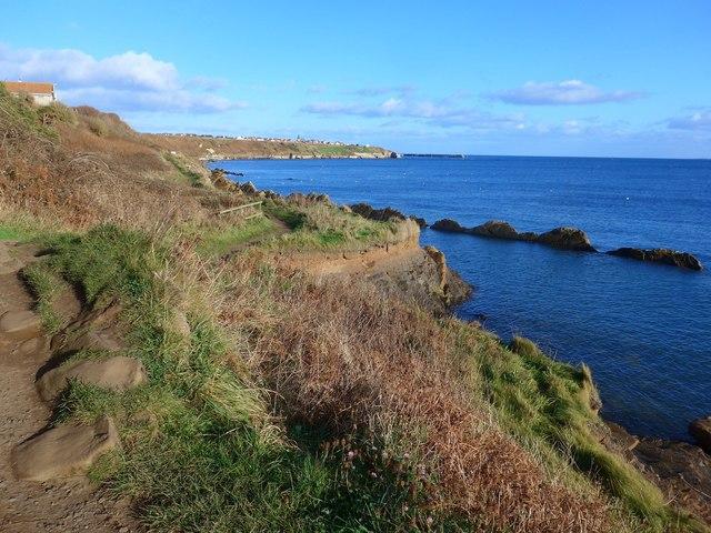 The Fife Coastal Path at Blind Capul