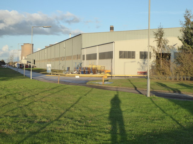 St Gobain glass factory, Eggborough