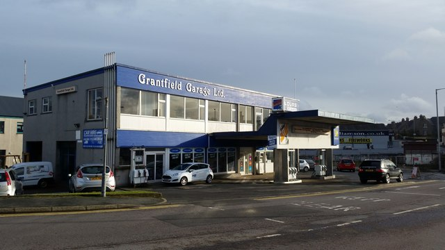Grantfield Garage, North Road, Lerwick