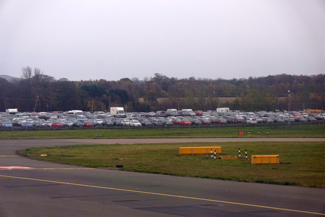 Car-parking at Ingliston from Edinburgh Airport
