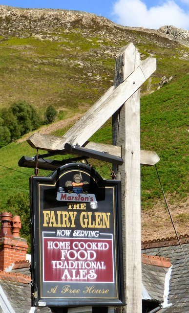 Sign of the Fairy Glen