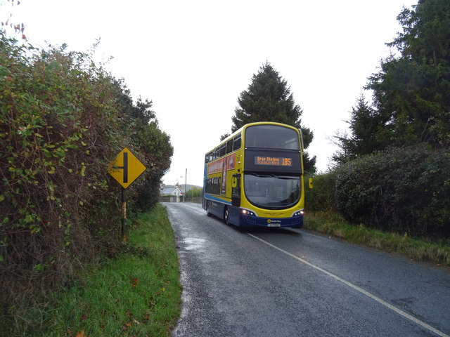 A Dublin Bus serves the rural community of Kilmallin