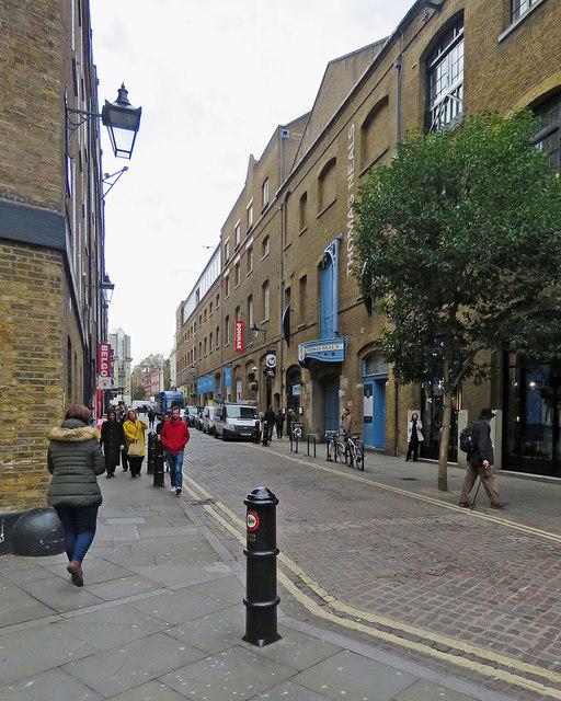 Along Earlham Street