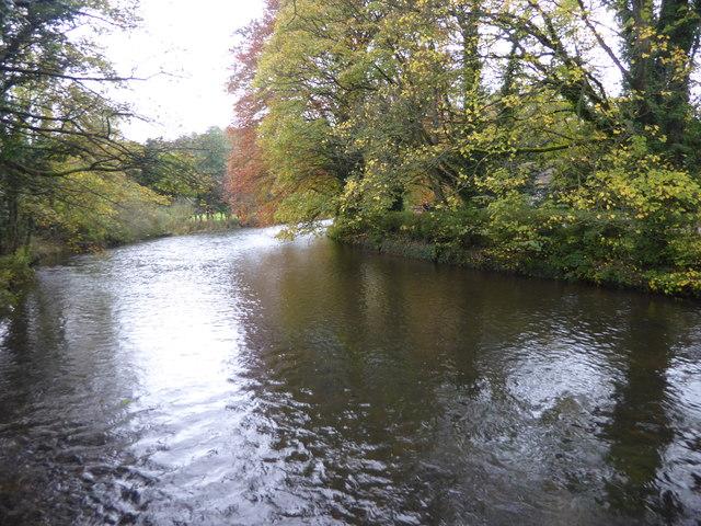 River Wye from the Sheepwash Bridge