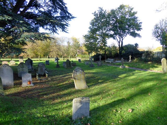 Essendon churchyard