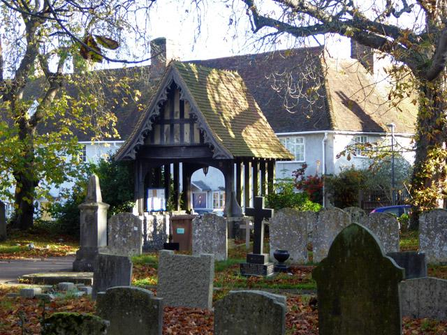 Lych gate, Essendon churchyard