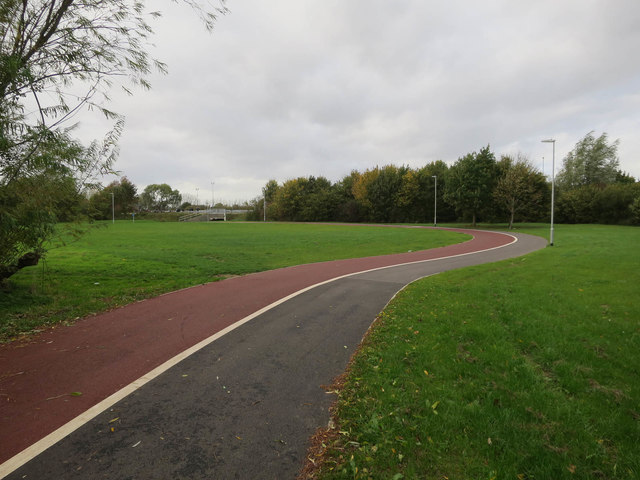 Path to Ely Leisure Village