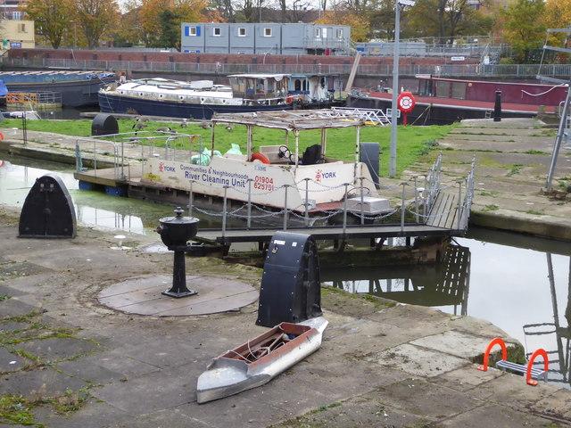 Castle Mill Lock, York
