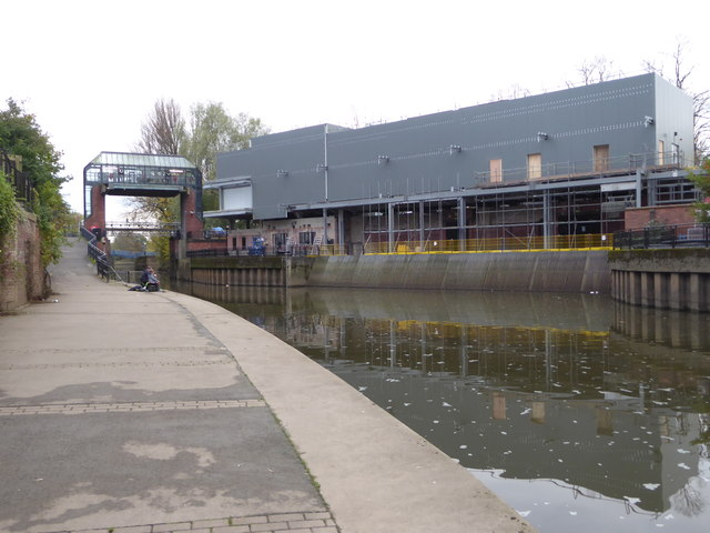 River Foss flood barrier and pumping station