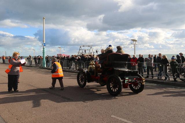 Veteran Car, Brighton,  East Sussex