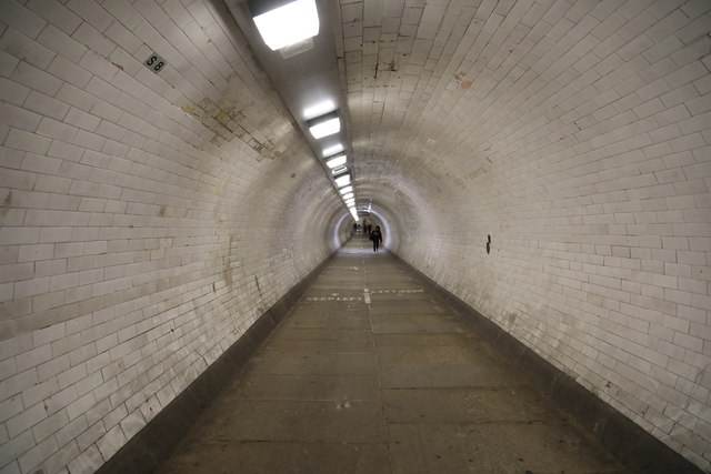 Greenwich Foot Tunnel under The Thames, Greenwich