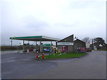 SW9961 : Service station at Victoria by Rod Allday