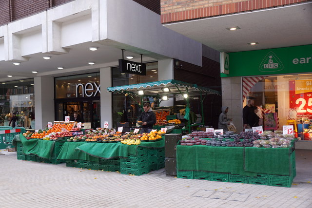 Fruit stall, Bromley High Street