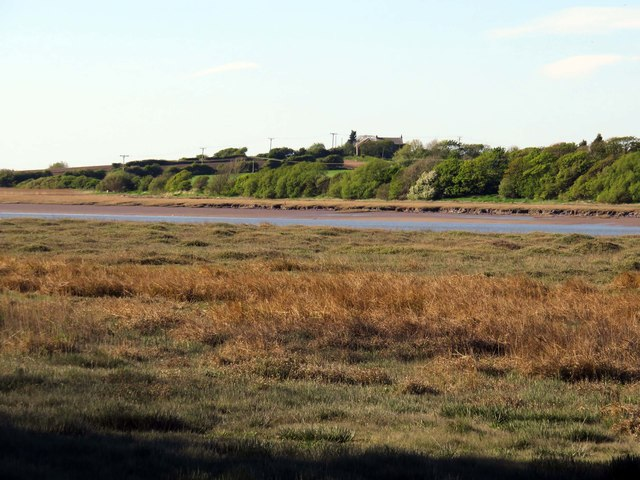Salt marsh by the River Wyre
