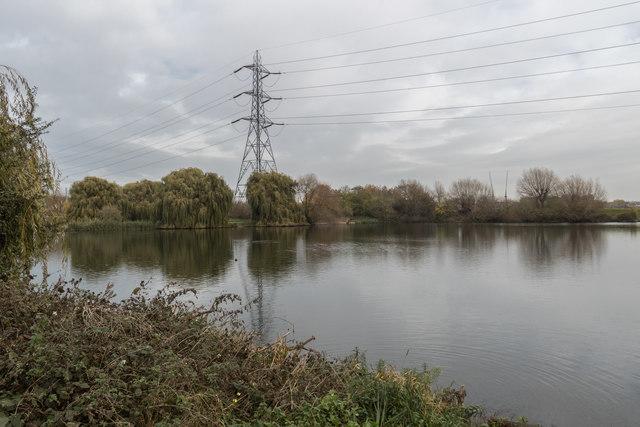 Reservoir, Tottenham  Marshes