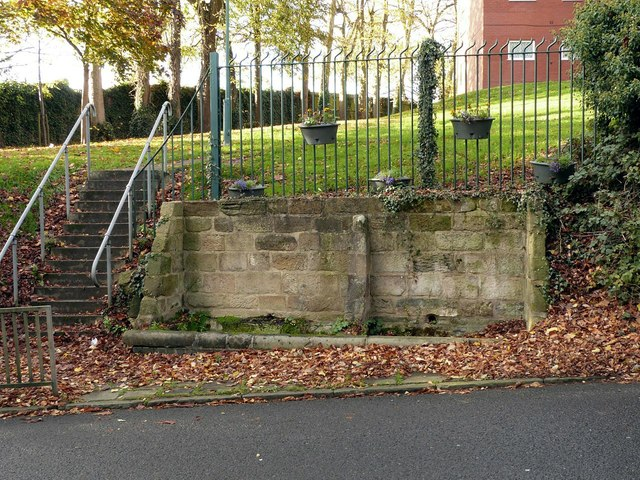 Horse trough, The Hollow, Littleover