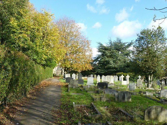 The churchyard, Littleover