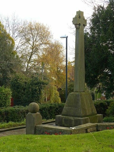 Littleover War Memorial