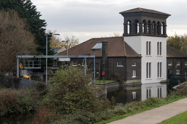 Old Copper Mill, Tottenham Marshes