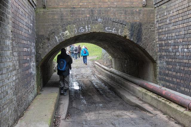 Tunnel under Railway, Tottenham Marshes