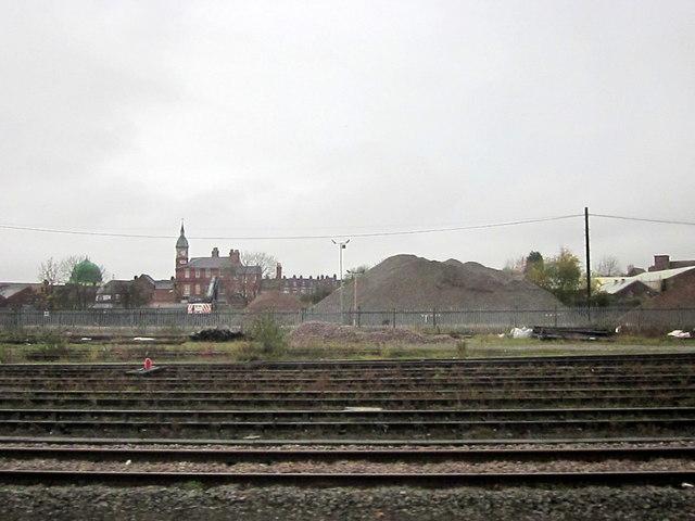 Railway Passing By Sparkbrook Birmingham