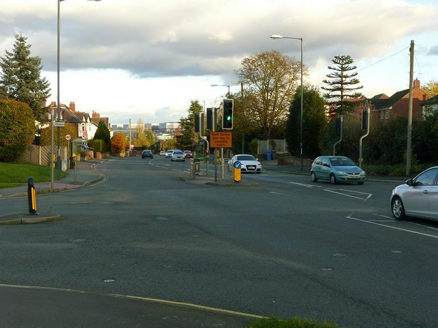 Uttoxeter Road at Corden Avenue