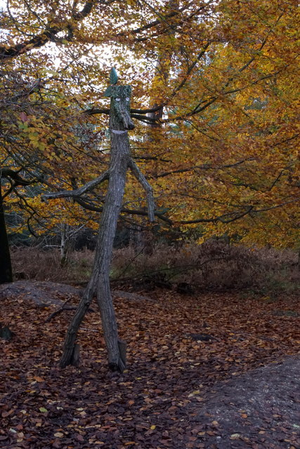 Stickman in Alice Holt Forest