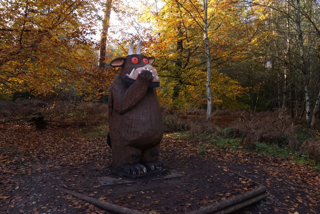 The Gruffalo in Alice Holt Forest