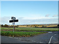 TL1348 : Road junction with a view by Robin Webster