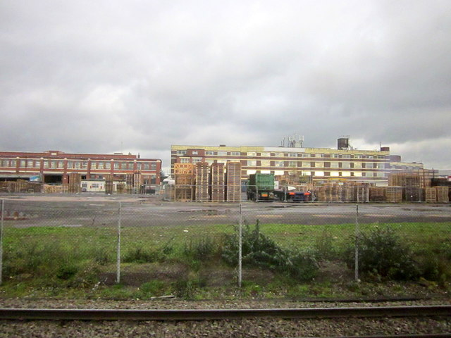 Derelict Land and Factory Buildings Tyseley