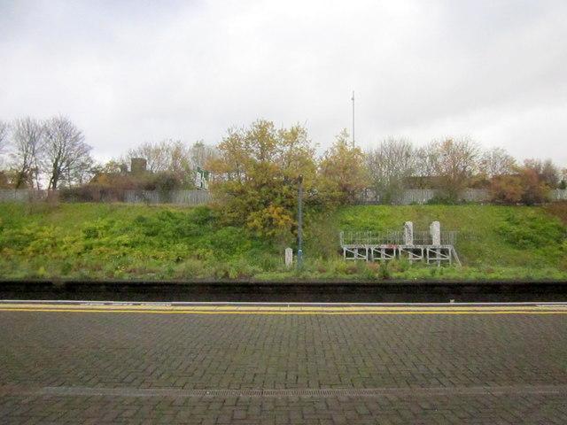 Small Heath Station Platform and Green Bank
