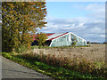 TL1262 : Old airfield building, RAF Little Staughton by Robin Webster