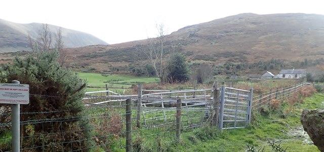 Shepherd's Cottage below Luke's Mountain