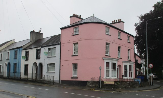 Houses on Rhosmaen Street, Llandeilo